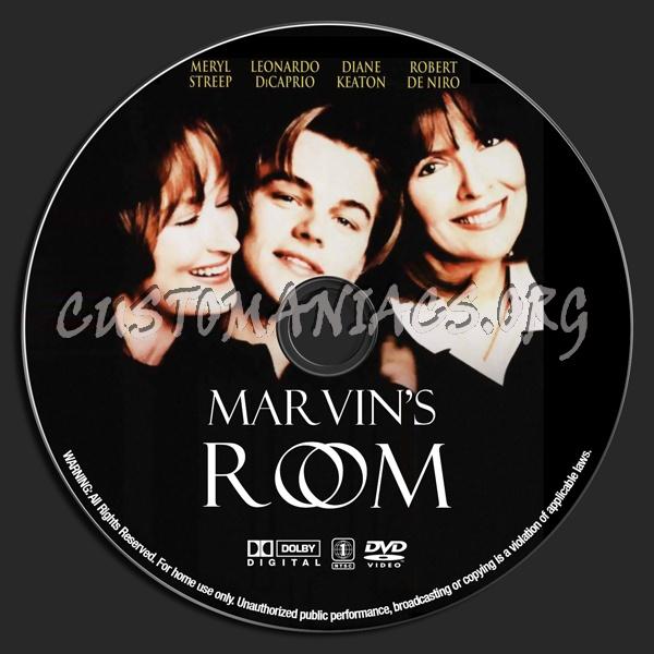 Marvin's Room dvd label