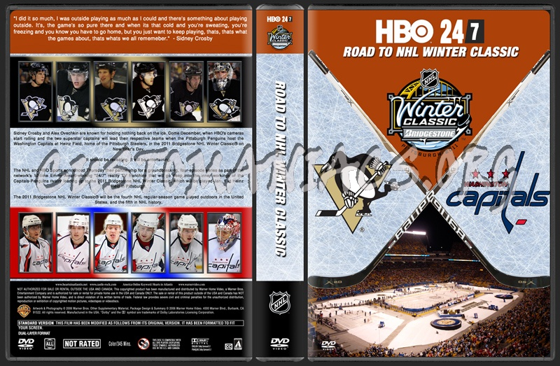 HBO 247 Road To Winter Classic dvd cover