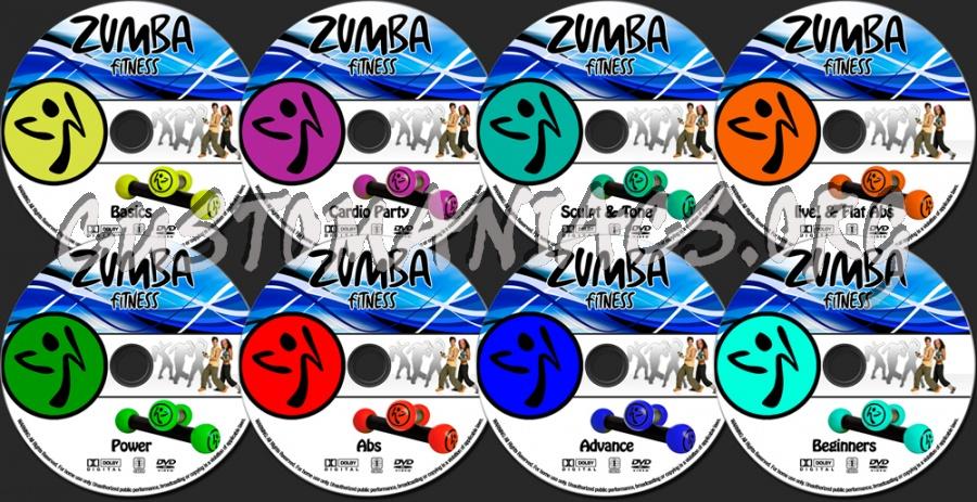 Zumba Fitness Zumba Fitness Dvd Label