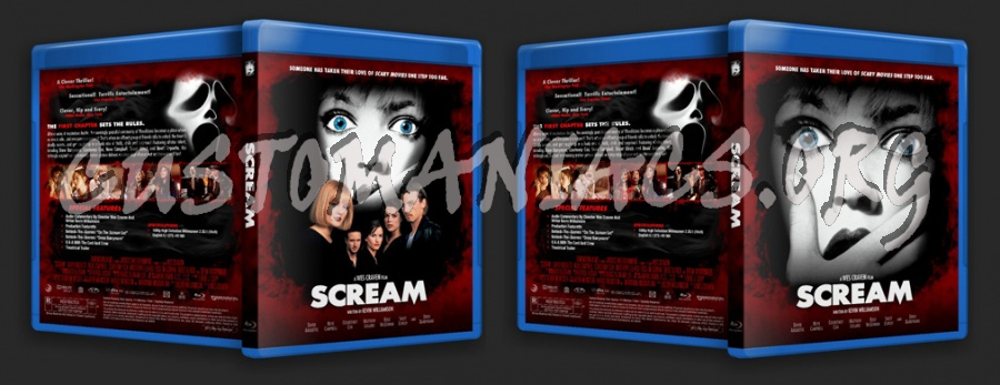 Scream Collection blu-ray cover