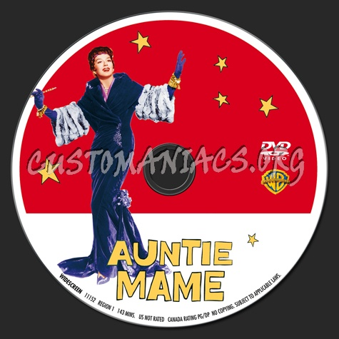 Auntie Mame dvd label - DVD Covers & Labels by ...