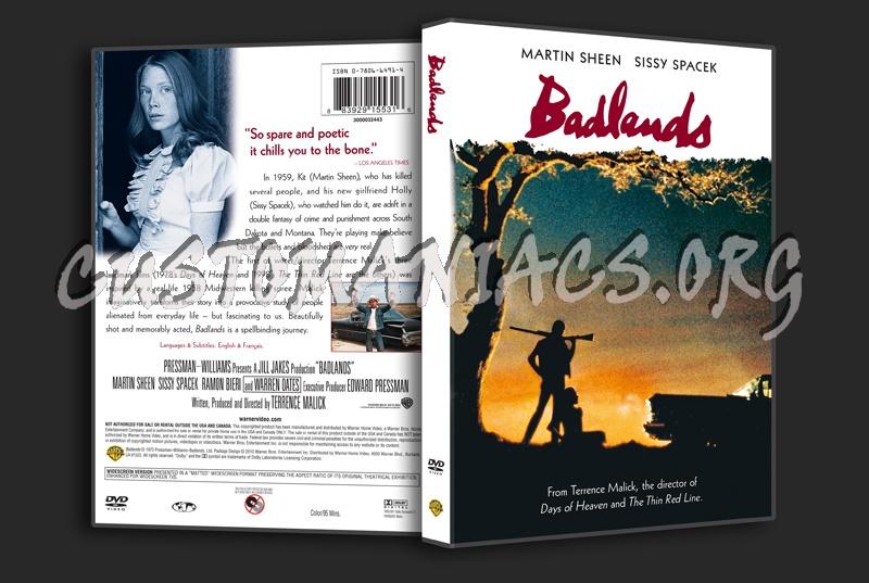 Badlands dvd cover