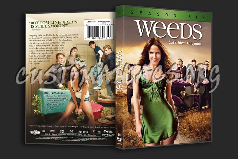 weeds season 6 cover. Weeds Season 6 dvd cover