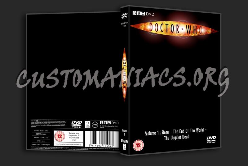 BBC Template dvd label