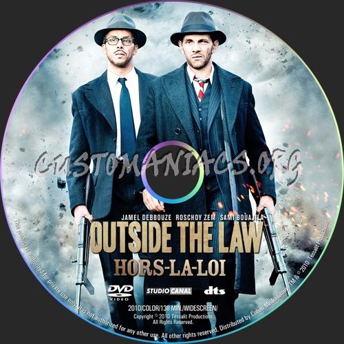 Outside The Law Aka Hors La Loi Dvd Label