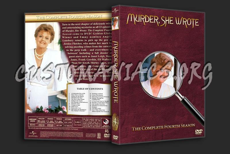 Murder, She Wrote - Seasons 1-12 dvd cover