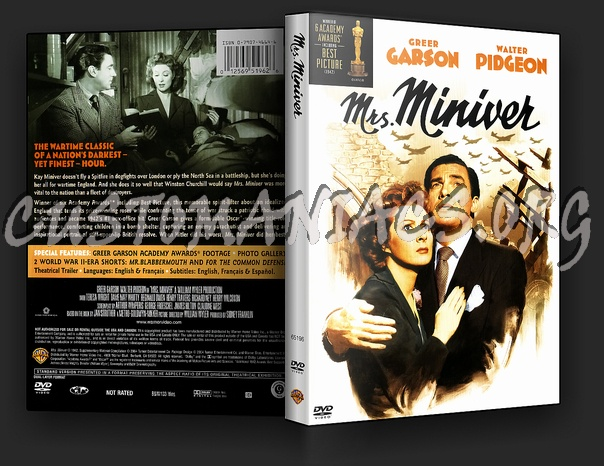 Mrs. Miniver dvd cover