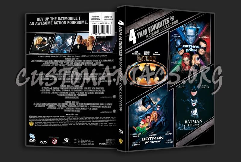Batman Collection dvd cover
