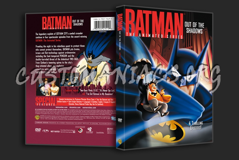 Batman The Animated Series Volume 3 dvd cover