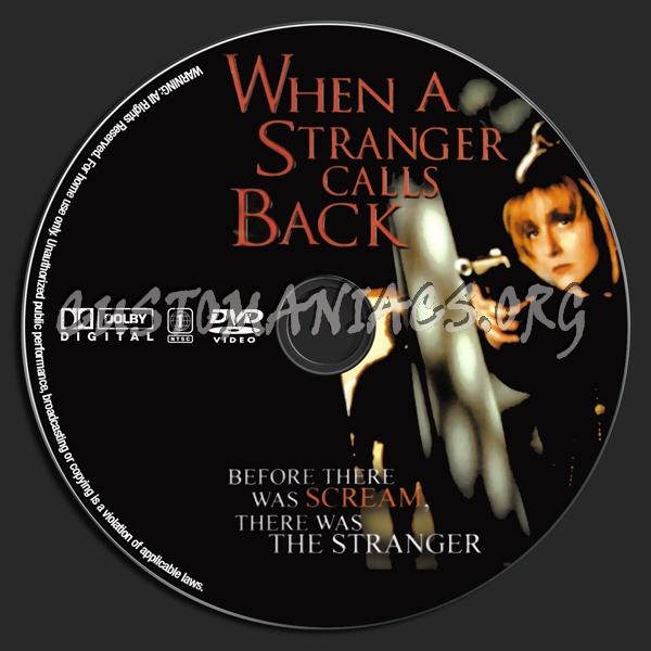 When A Stranger Calls Back Dvd Label Dvd Covers Labels
