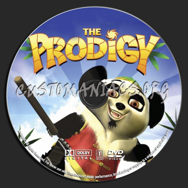 The Prodigy dvd label