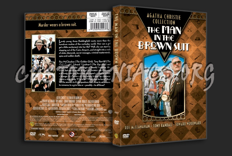 Agatha Christie Collection: The Man in the Brown Suit dvd cover ...