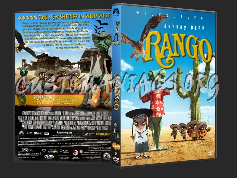 Rango 2011 Dvd Cover Dvd Covers Labels By Customaniacs Id 130946 Free Download Highres Dvd Cover