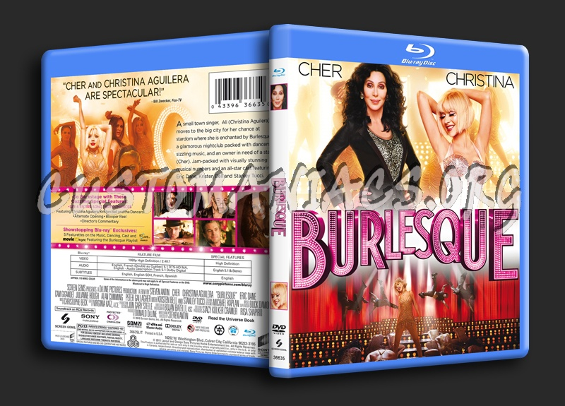 Burlesque blu-ray cover