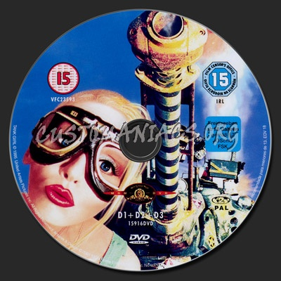 Tank Girl dvd label