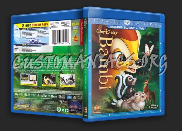 Bambi blu-ray cover