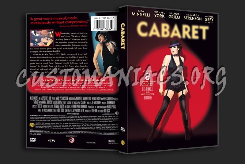 Cabaret dvd cover