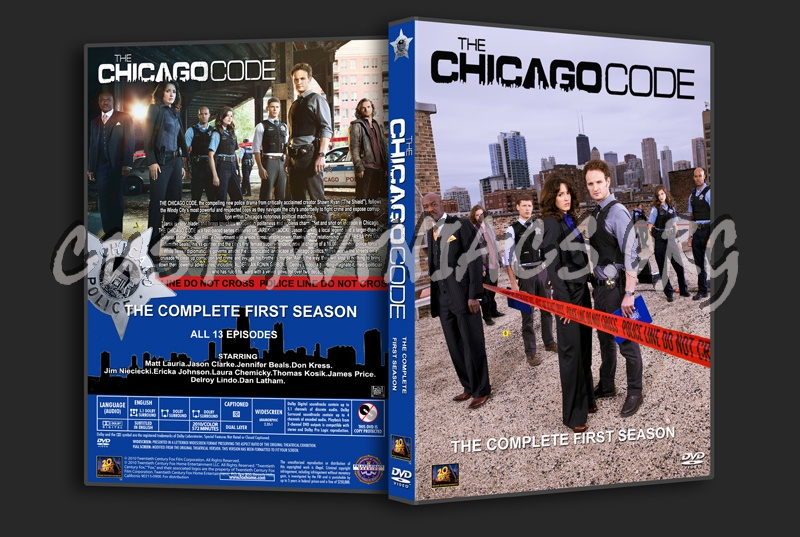 The Chicago Code Season 1 dvd cover