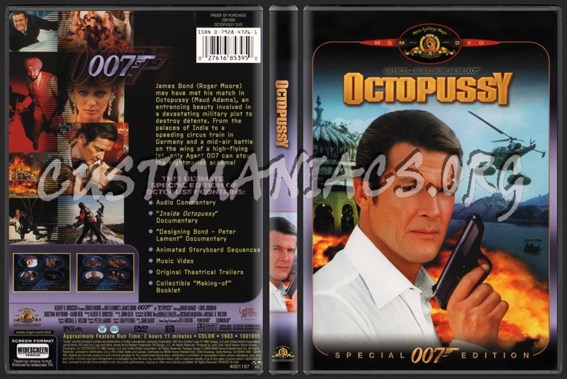 Octopussy dvd cover