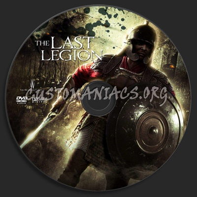 The Last Legion dvd label