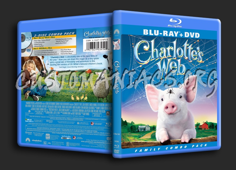 Charlotte's Web blu-ray cover