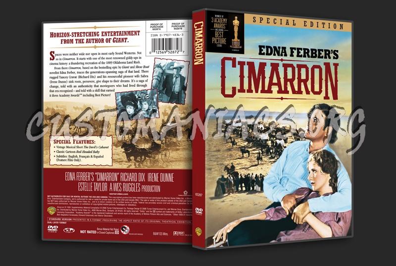 Cimarron dvd cover