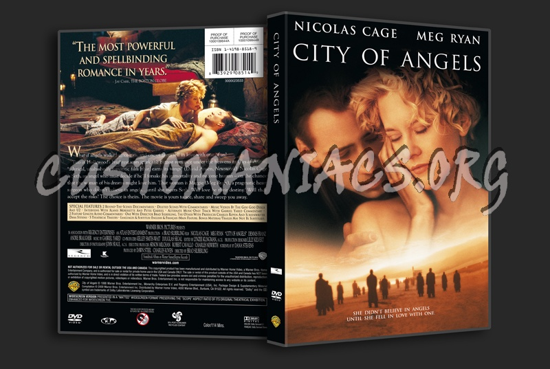 City of Angels dvd cover
