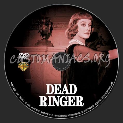 Dead Ringer dvd label