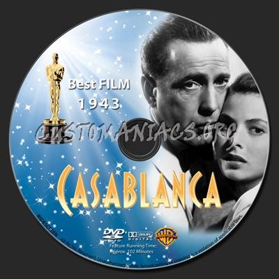Casablanca dvd label