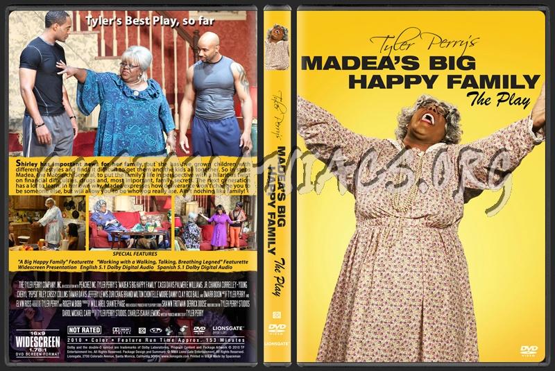 Madea's Big Happy Family dvd cover
