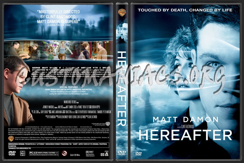 Hereafter dvd cover