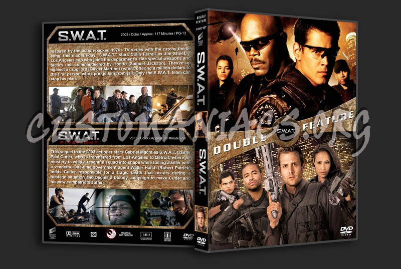 S.W.A.T. Double Feature dvd cover