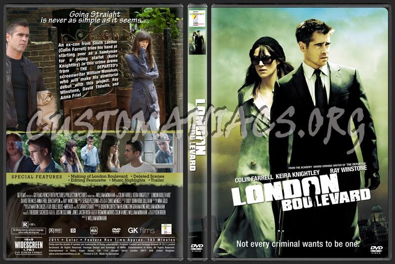 London Boulevard dvd cover