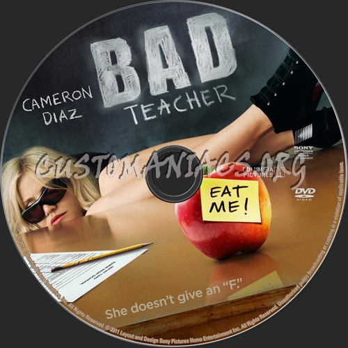 Bad Teacher dvd label