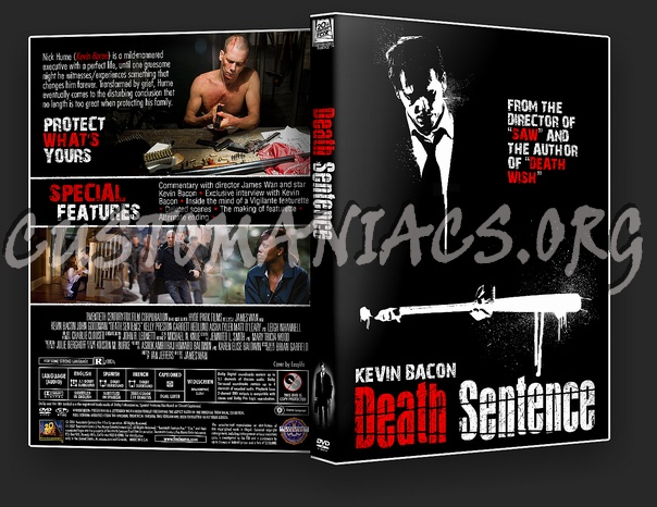 Death Sentence dvd cover