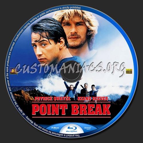 Point Break blu-ray label