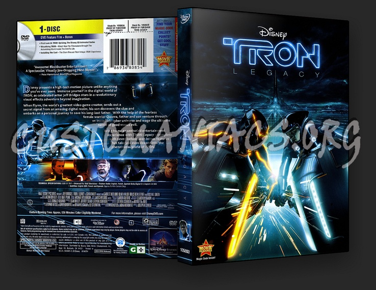 tron legacy dvd cover dvd covers labels by customaniacs id