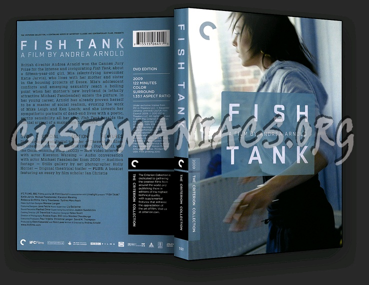 553 Fish Tank dvd cover
