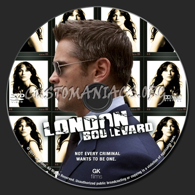 London Boulevard dvd label