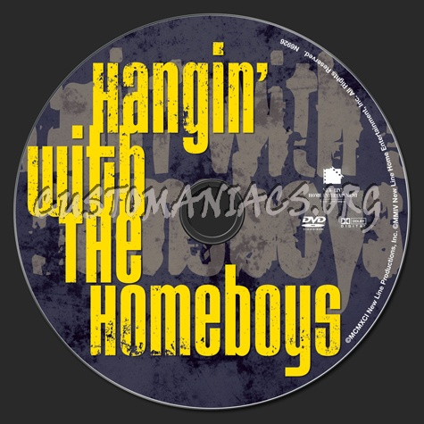Hangin'  With the Homeboys dvd label