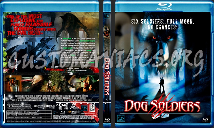 Dog Soldiers blu-ray cover