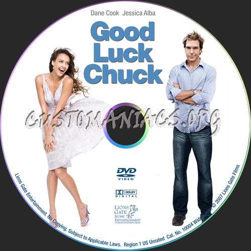 Good Luck Chuck dvd label - DVD Covers & Labels by ...