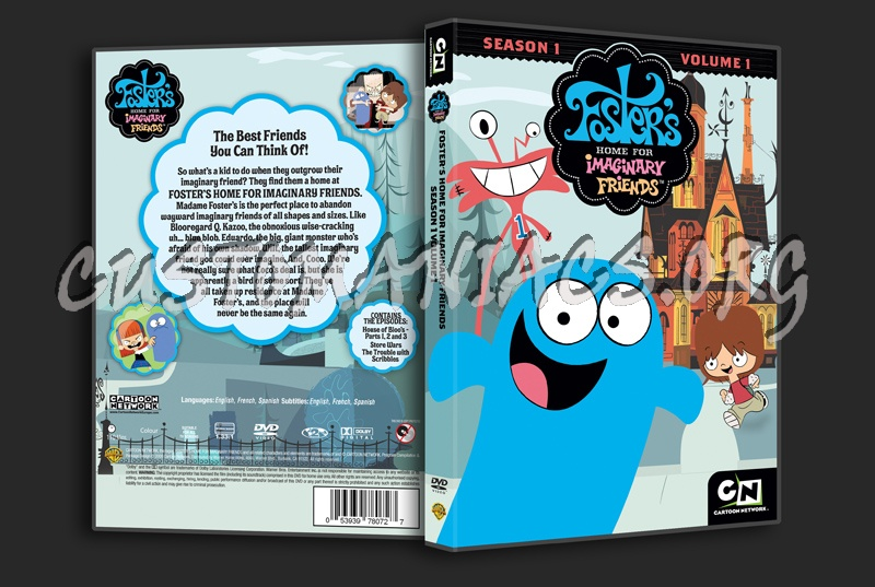 Foster's Home For Imaginary Friends - Season 1 Volume 1 dvd cover