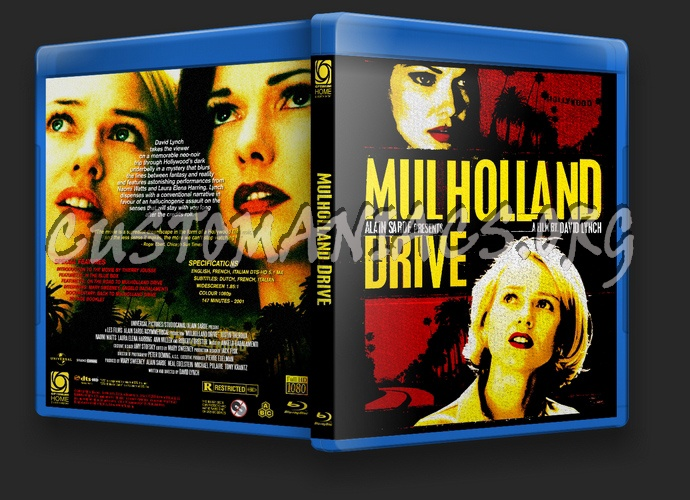 Mulholland Drive blu-ray cover