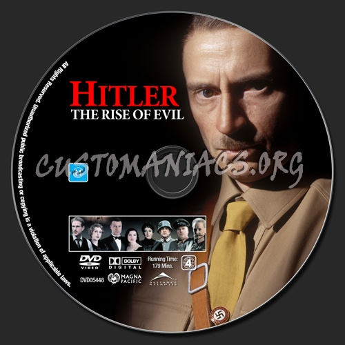 The Rise Of Evil Dvd Label