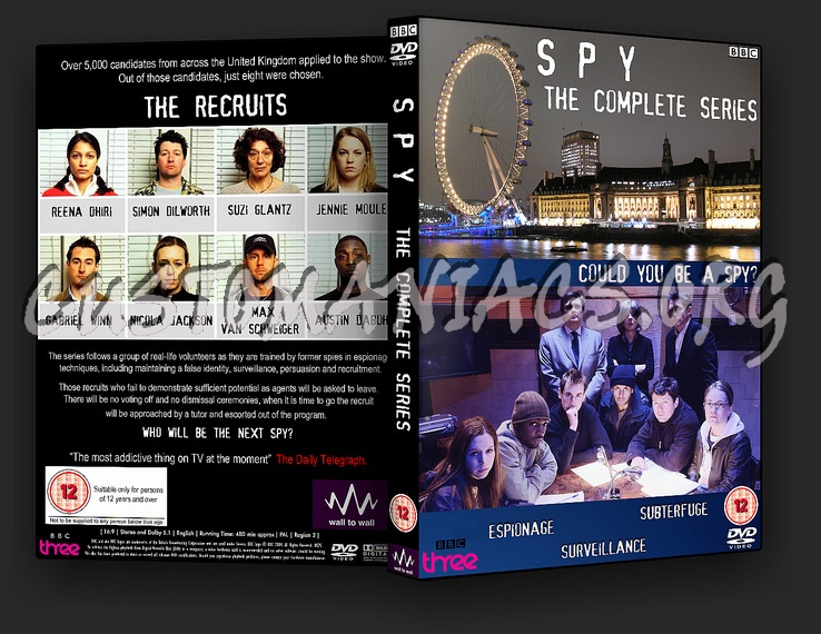 Spy The Complete Series dvd cover