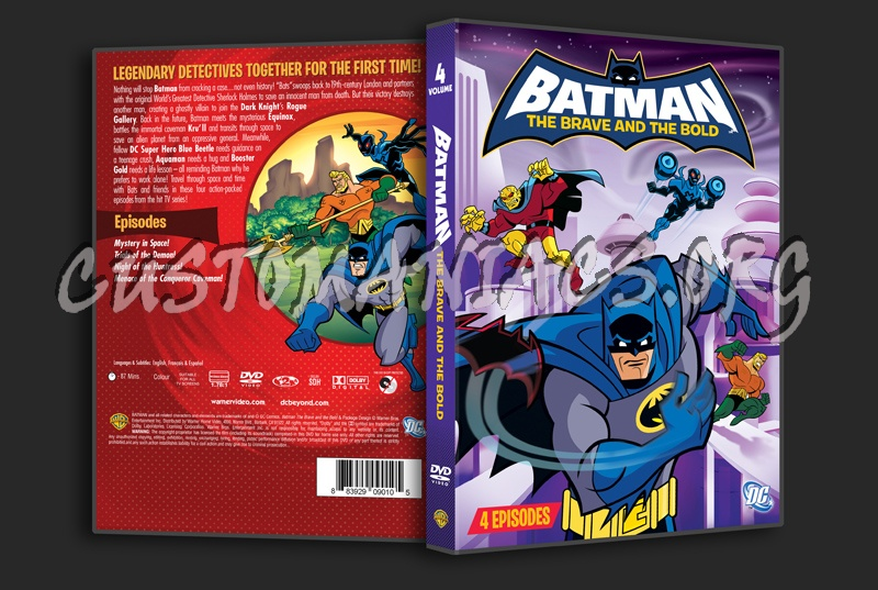 batman - the brave and the bold volume 4 dvd cover