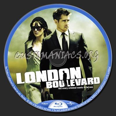 London Boulevard blu-ray label