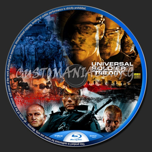 Universal Soldier Trilogy blu-ray label