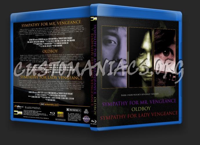 Sympathy for Mr. Vengeance / Oldboy / Sympathy for Lady Vengeance blu-ray cover